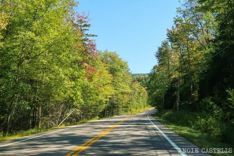 La carretera 125 - Guía para viajar por Vermont