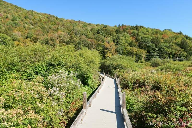 Qué hacer en Vermont - Excursión a las Thundering Brook Falls