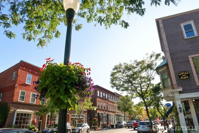 Ruta por Vermont - El pueblo de Woodstock