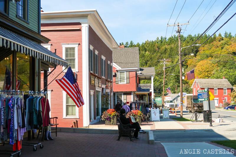 Qué ver en Vermont - El pueblo de Stowe
