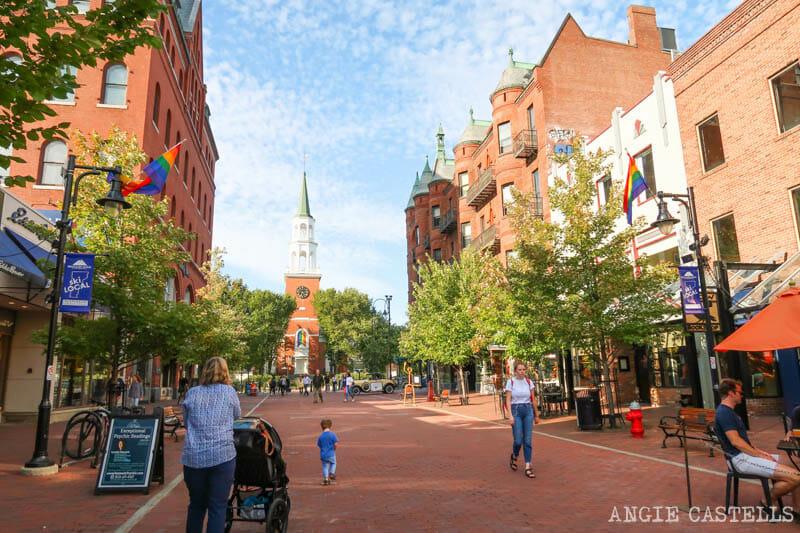 Guía para visitar Vermont - La ciudad de Burlington