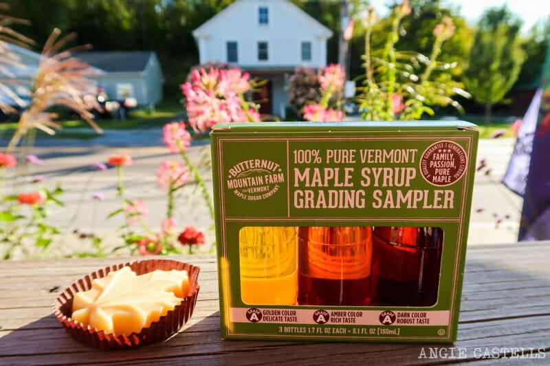 Maple syrup y jarabe de arce de Vermont