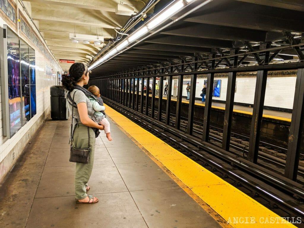 Cómo moverte en el metro de Nueva York con niños