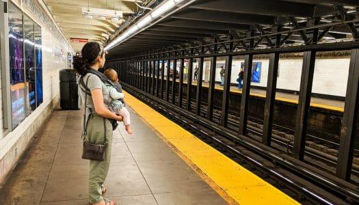 Cómo usar el metro de Nueva York con niños