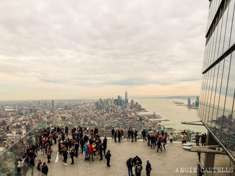 La terraza del observatorio Edge y las vistas de Nueva York