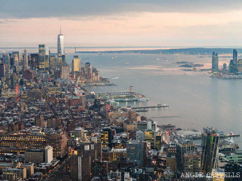 Las vistas de Nueva York desde el mirador Edge 2
