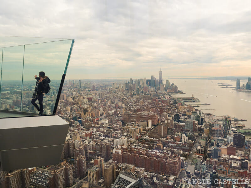 Subir al observatorio Edge, en Nueva York