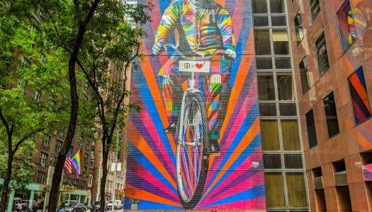 Los murales de Kobra en Nueva York