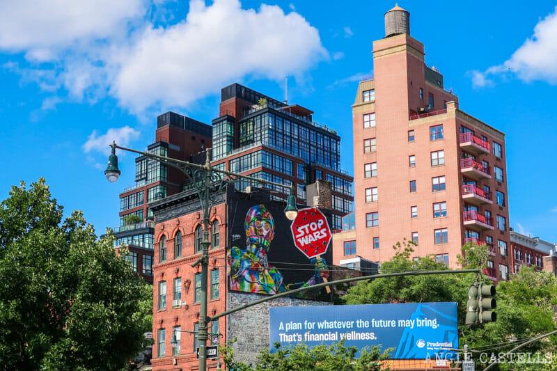 Murales de Kobra en Nueva York - Stop Wars Star Wars