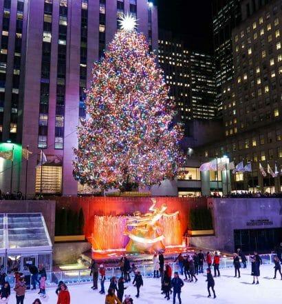 Los árboles de Navidad de Nueva York más famosos - Rockefeller Center