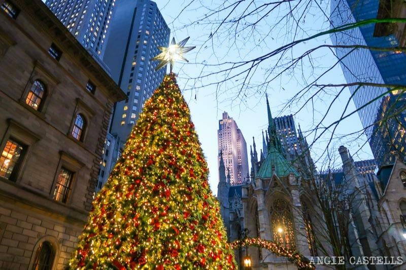 Los árboles de Navidad mas bonitos de Nueva York - New York Lotte Palace