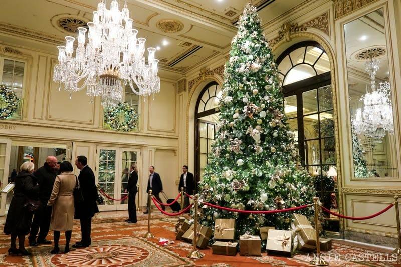 Los mejores árboles de Navidad de Nueva York - Hotel Plaza