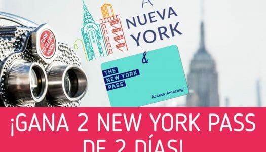 Sorteo de 2 tarjetas New York Pass