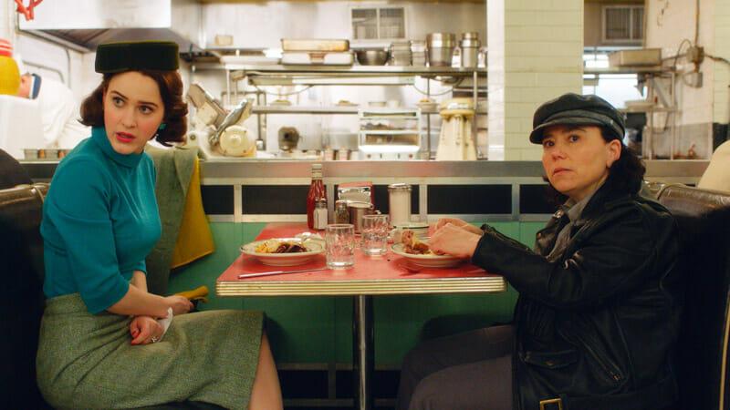 Escenarios de La maravillosa Sra. Maisel en Nueva York - Restaurante deli