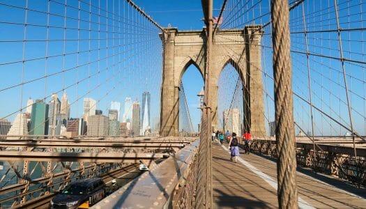 Cómo cruzar el puente de Brooklyn a pie