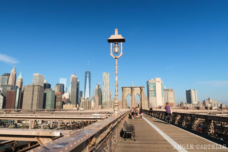 Consejos para cruzar el puente de Brooklyn andando