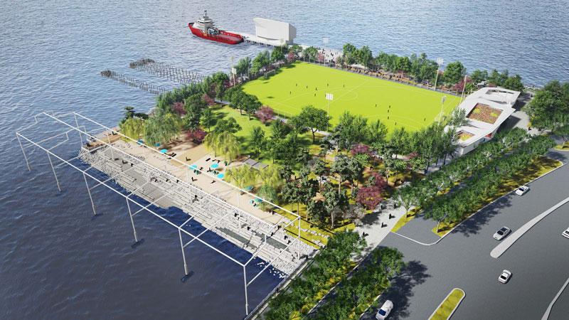 Razones para viajar a Nueva York en 2021 - La Gansevoort Peninsula