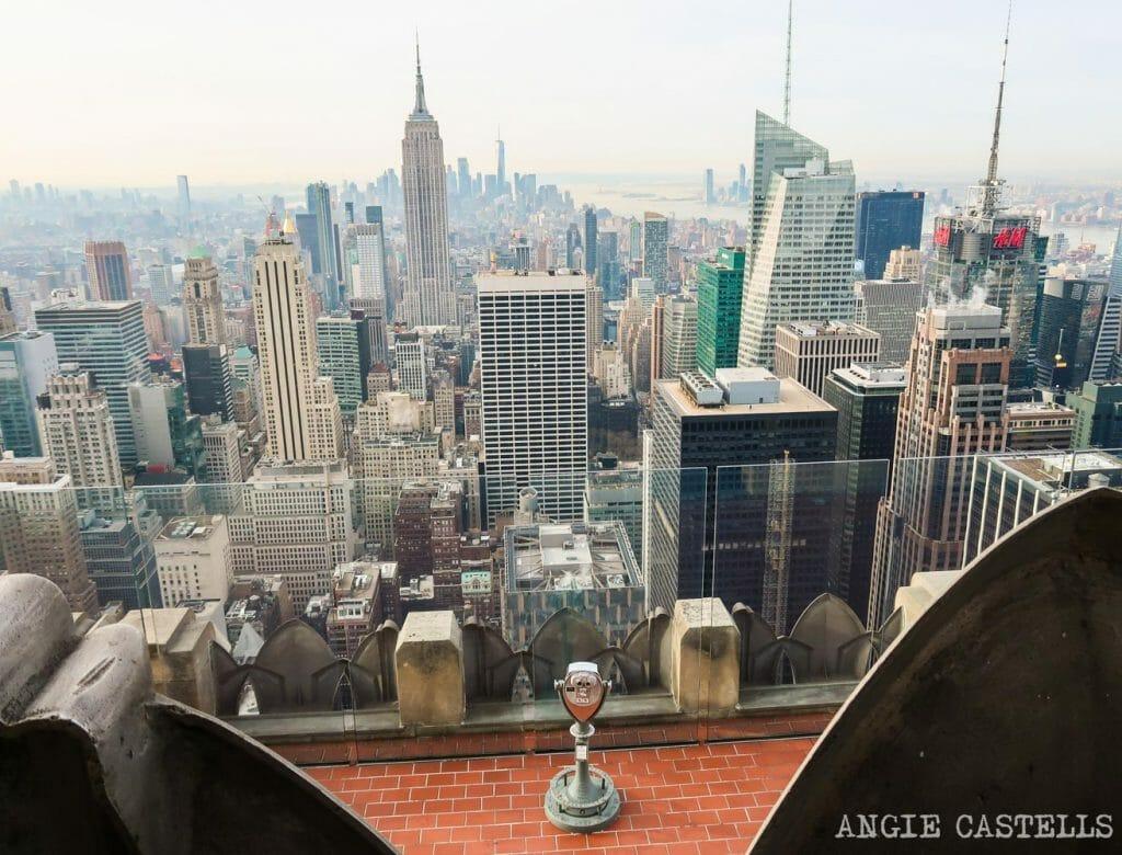 Guía para subir al Top of the Rock, en el Rockefeller Center