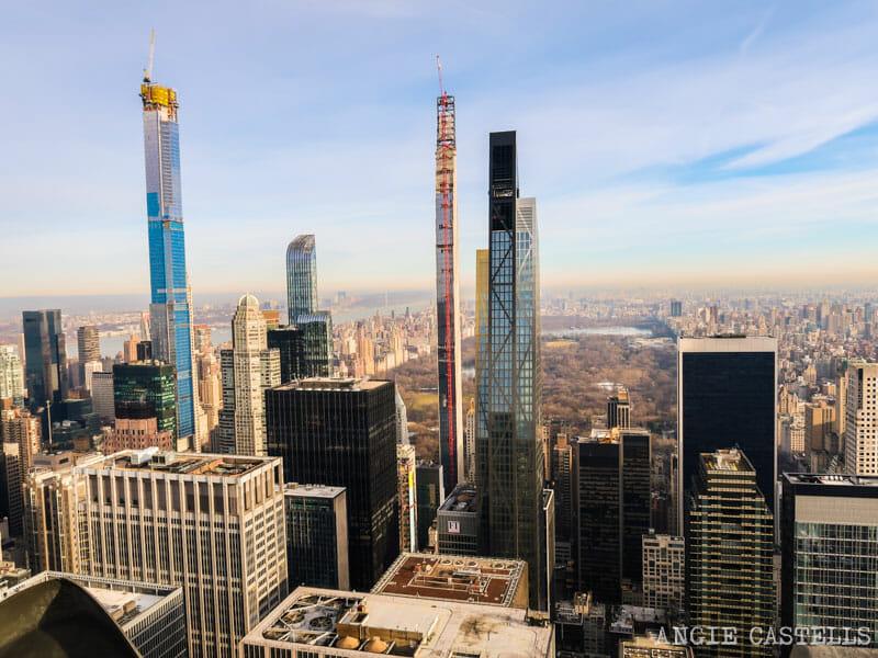 Los rascacielos de Central Park desde el Top of the Rock