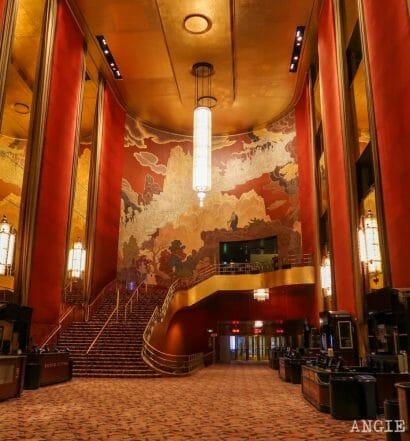 Visitar el Radio City Music Hall, en Nueva York