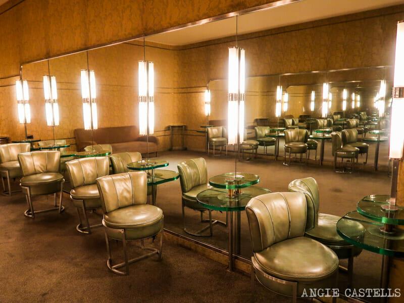 Los baños de la sala de radio de la ciudad de la música, en el Rockefeller Center
