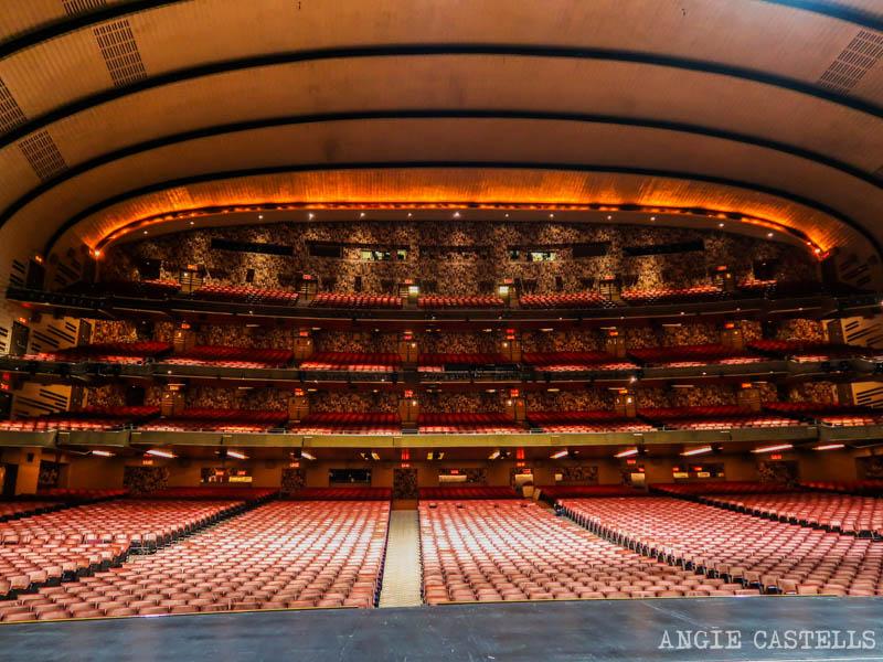 Tour por el Radio City Music Hall y su escenario