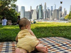 Consejos para viajar a Nueva York con niños o bebés - Brooklyn Bridge Park