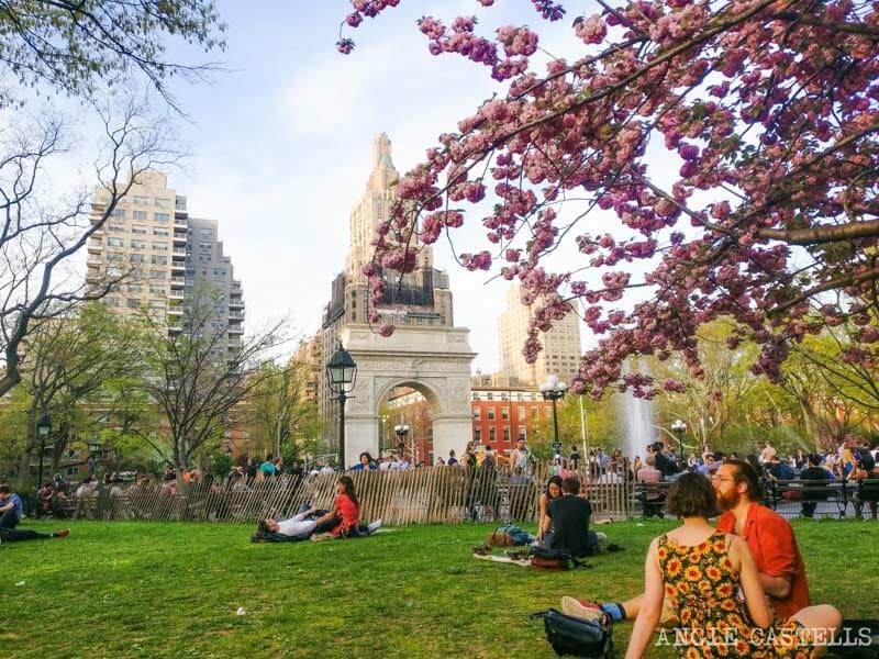 Cuál es la mejor época para visitar Nueva York - Washington Square
