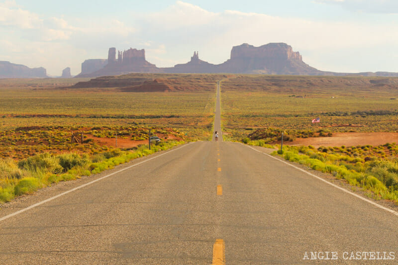 El Forrest Gump Point, escenario de Forrest Gump en Monument Valley
