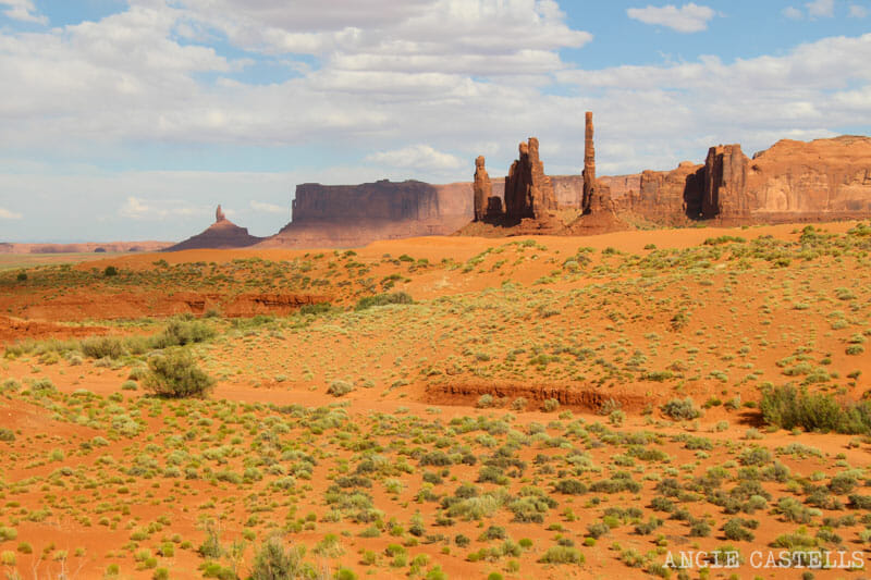 Ruta por Monument Valley y el Valley Drive