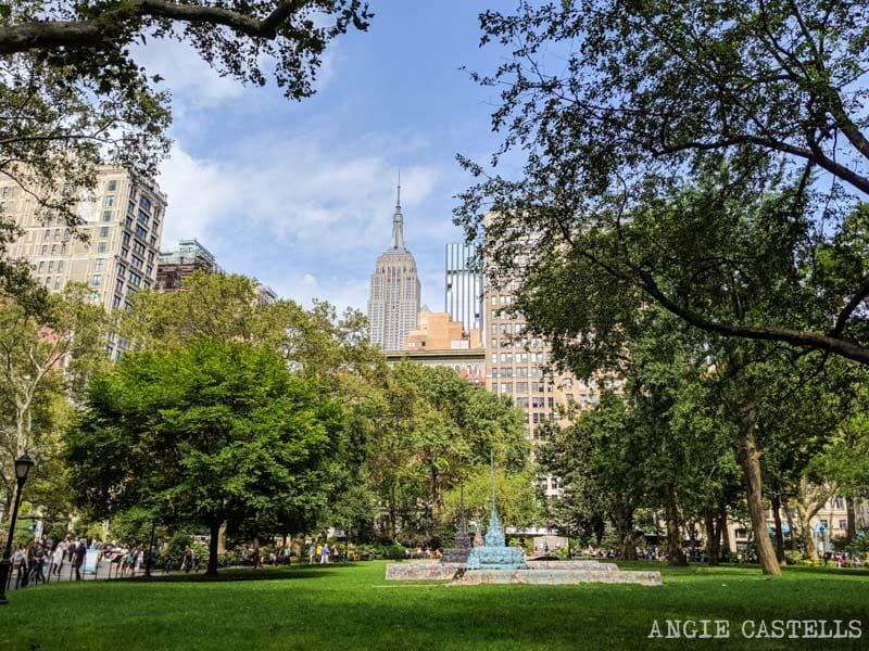 Itinerario por Nueva York en 7 días - Madison Square y Empire State Building