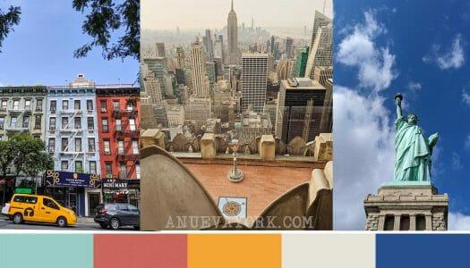 Nueva York con los 5 sentidos – Colores, olores, sabores