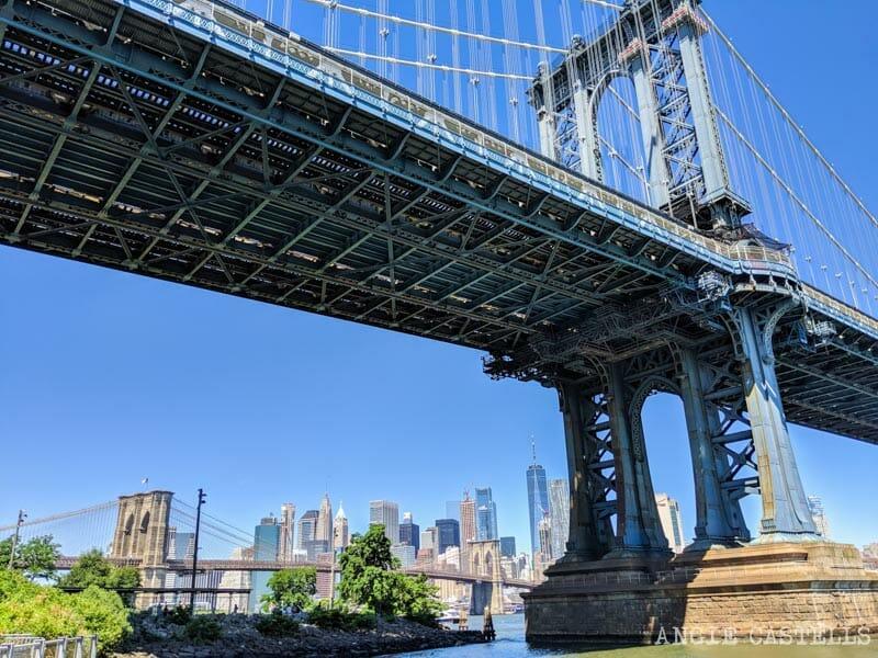 Qué hacer en Dumbo - El puente de Manhattan y de Brooklyn