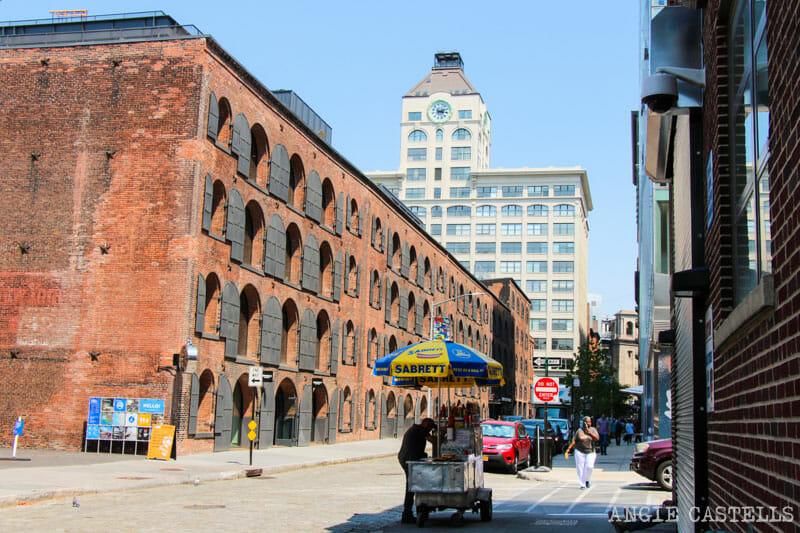 Qué hacer en Dumbo, Brooklyn - Edificios industriales