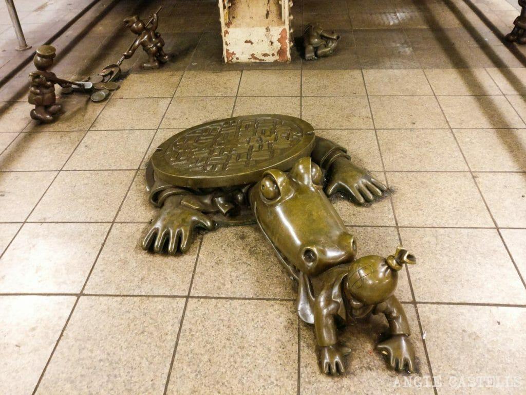 Leyenda urbana: los caimanes en las alcantarillas de Nueva York