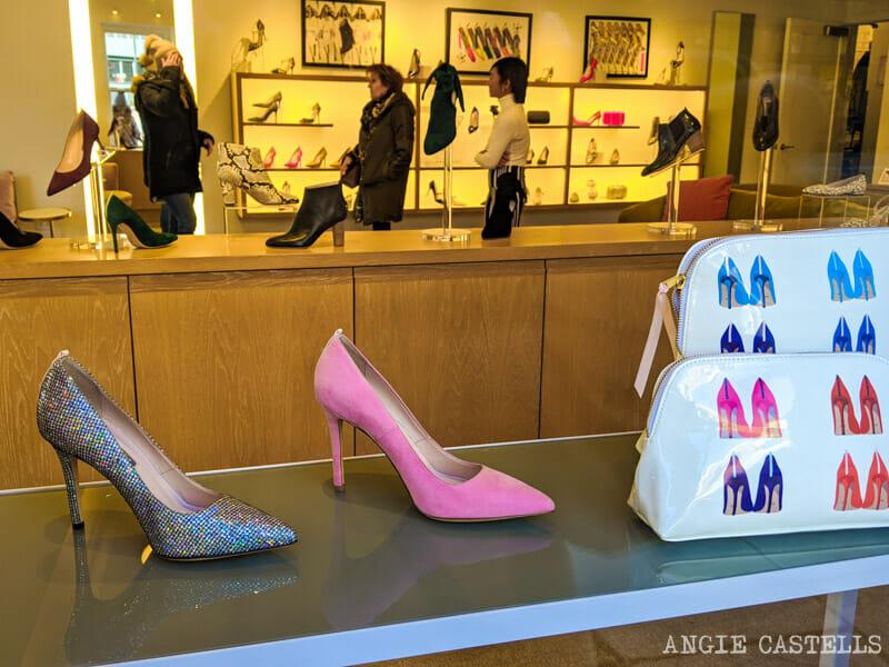 Las tiendas de zapatos de Sarah Jessica Parker en Nueva York
