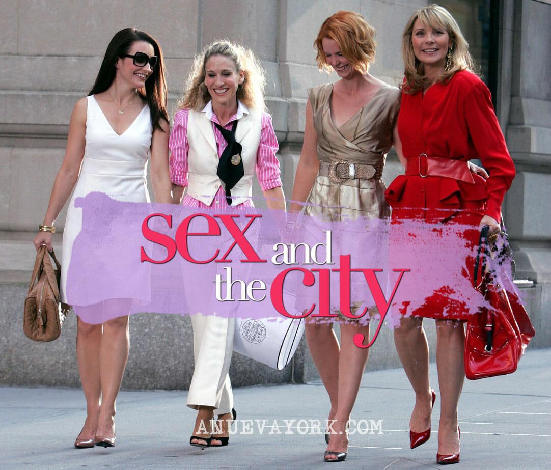 Mapa de escenarios de Sexo en Nueva York y cómo visitarlos