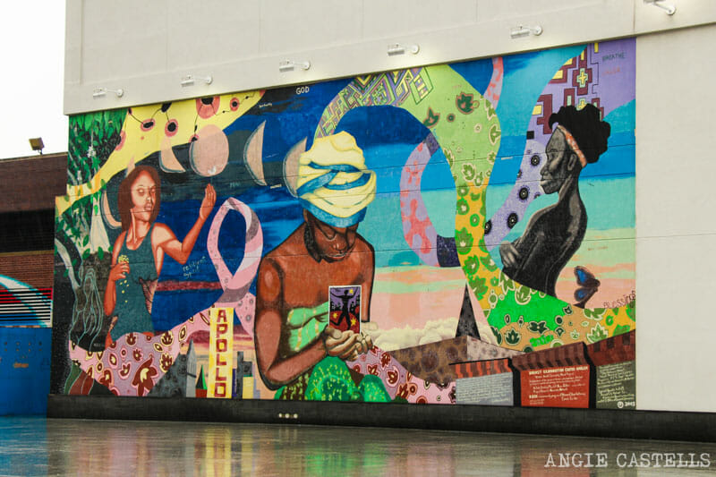 La historia negra de Nueva York - Mural de Harlem