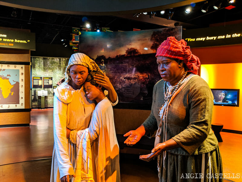 Historia negra de Nueva York - El African Burial Ground Museum