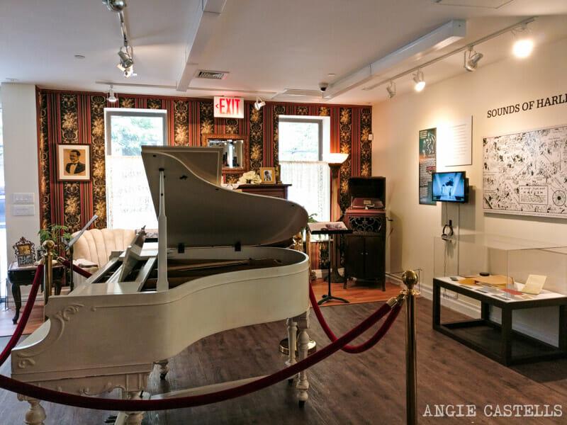 Historia negra de Nueva York - El piano de Duke Ellington en el Jazz Museum de Harlem