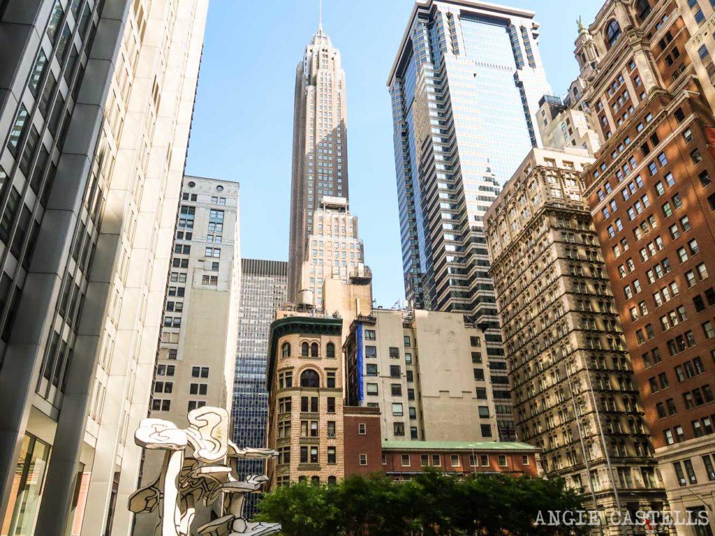 Qué ver en el Distrito Financiero de Nueva York - 70 Pine St