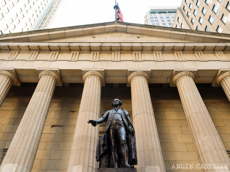 Qué ver en el Distrito Financiero de Nueva York - Federal Hall