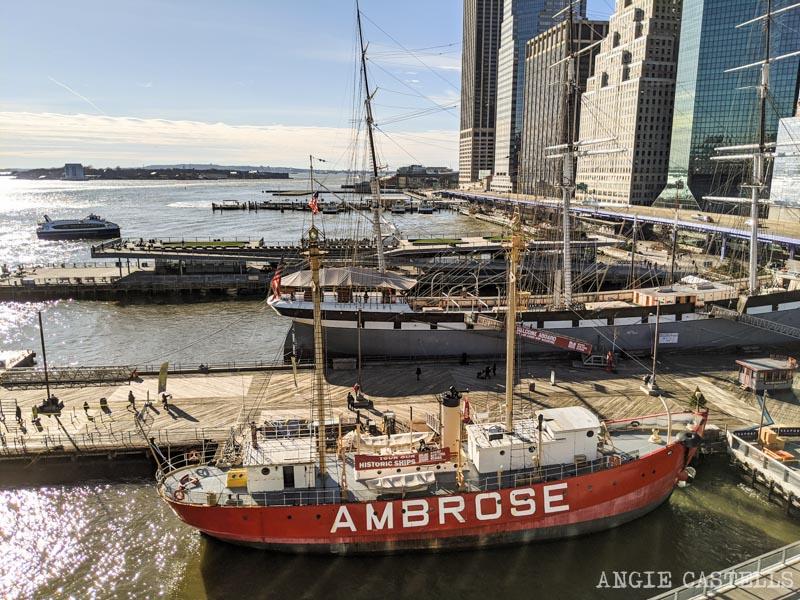 Qué ver en South St Seaport, el barrio maritimo de Nueva York - Barcos