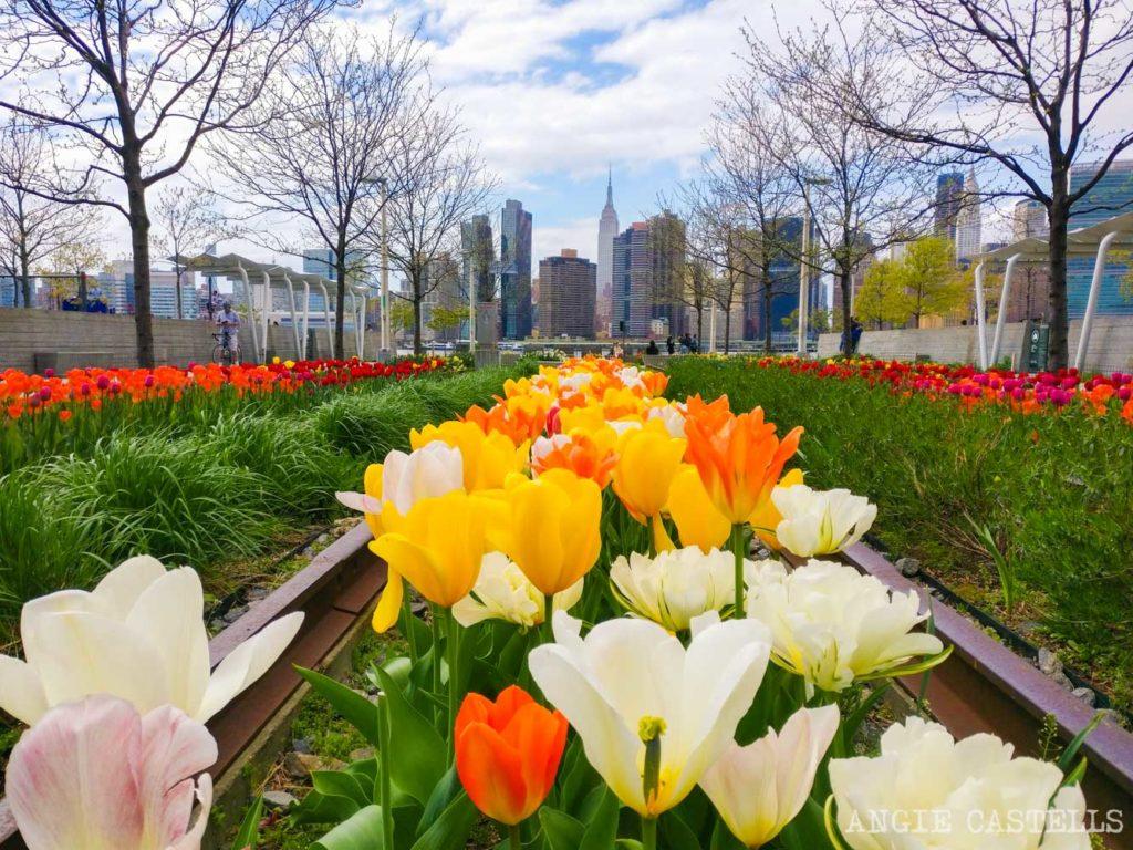 Que hacer en Nueva York en mayo - Empire State Building desde Queens y Hunters Point South
