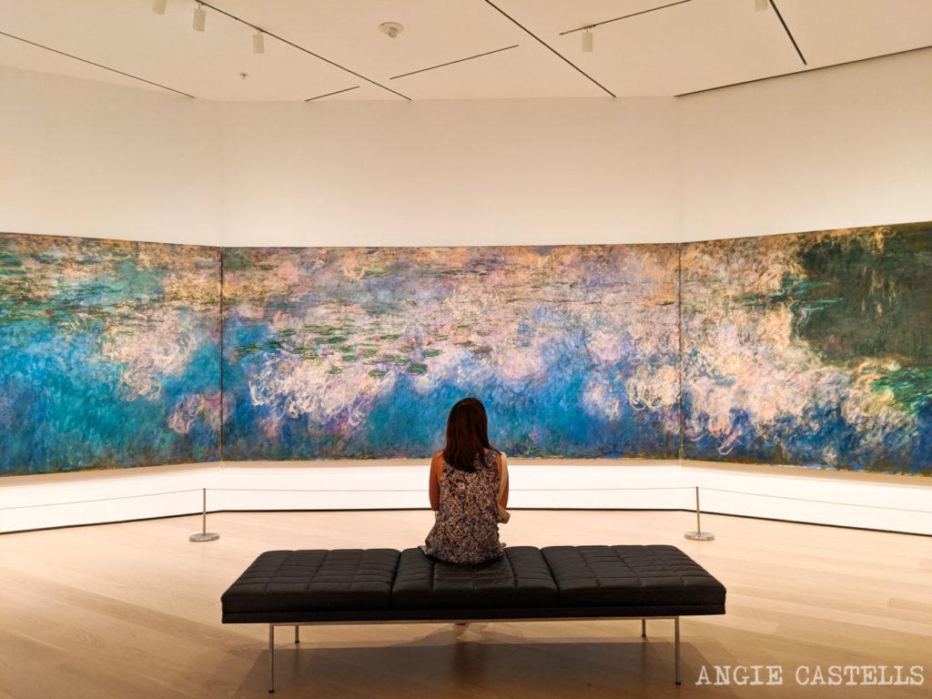 Visitar el museo Moma de Nueva York - Los nenufares de Monet 1500