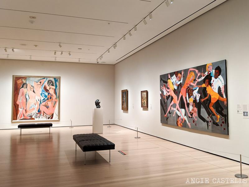 Visitar el Moma de Nueva York - Demoiselles d Avignon de Picasso