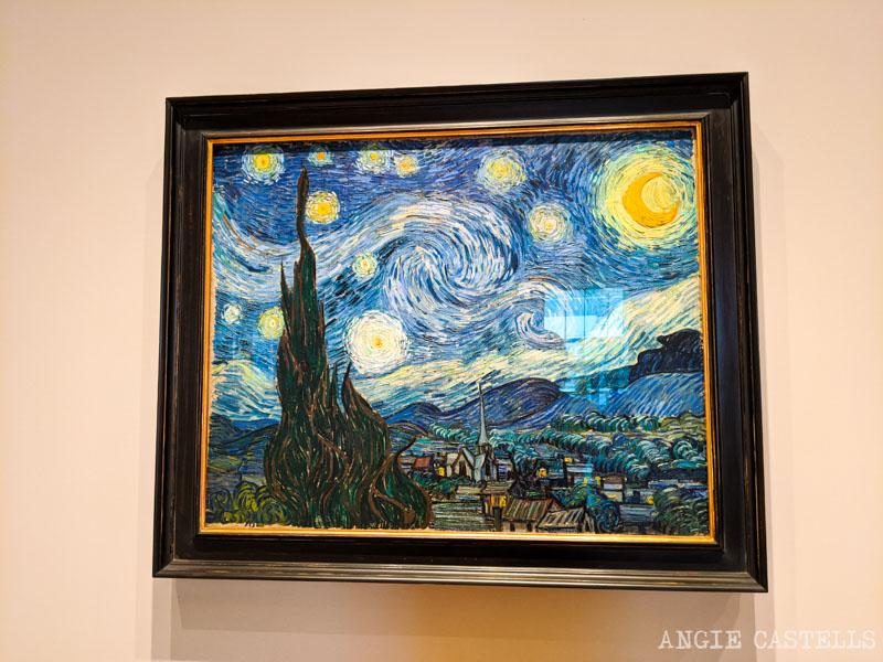 La noche estrellada de Van Gogh en el museo Moma de Nueva York