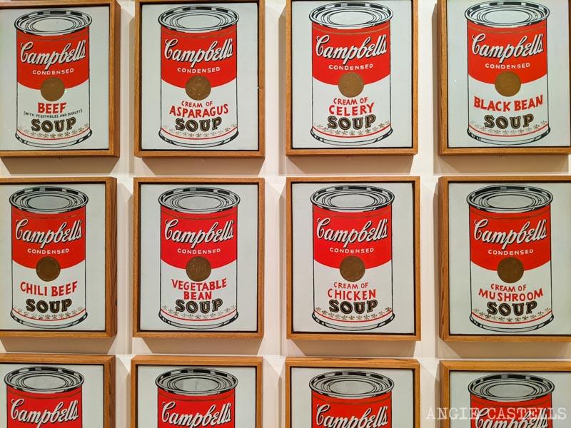 Consejos para visitar el Moma - Obras de Andy Warhol