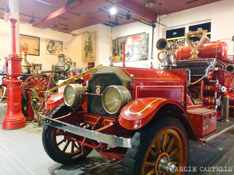 Los mejores museos de Nueva York con ninos - New York Fire Museum