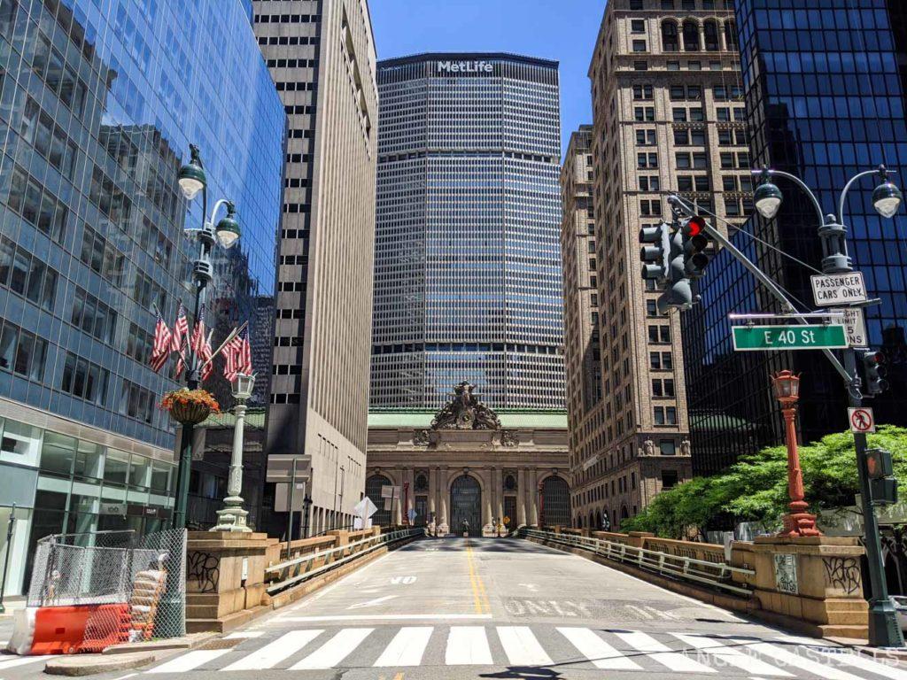 Fotos de Nueva York en 2020 - Grand Central Station y MetLife Building